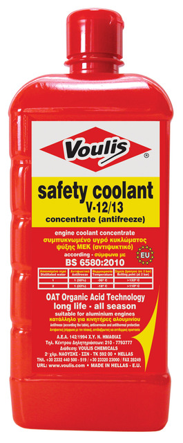 safety coolant long life- V12 - V30