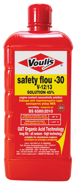 safety flou -30 long life -V12